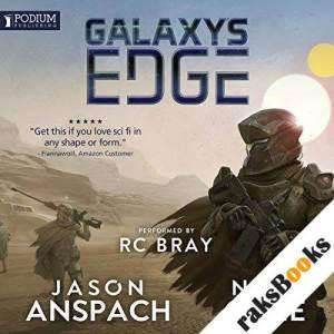 Galaxy's Edge audiobook cover art