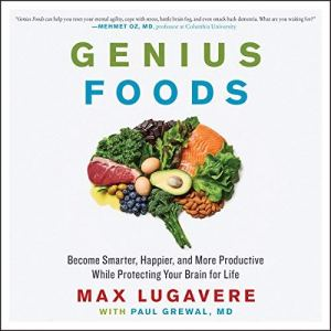 Genius Foods audiobook cover art
