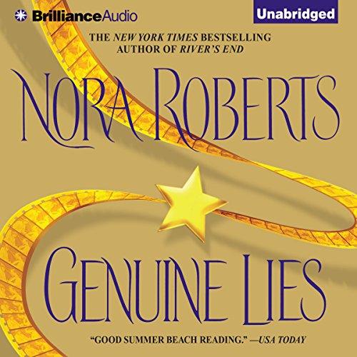 Genuine Lies audiobook cover art