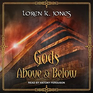 Gods Above and Below audiobook cover art