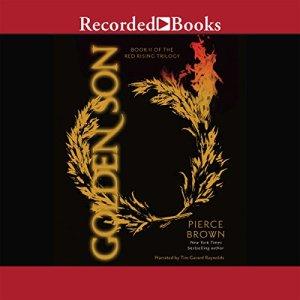 Golden Son audiobook cover art