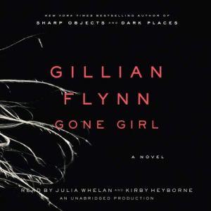 Gone Girl audiobook cover art
