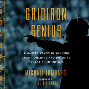 Gridiron Genius audiobook cover art