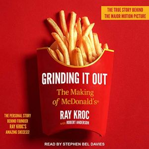 Grinding It Out audiobook cover art