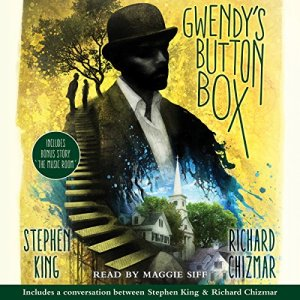 Gwendy's Button Box audiobook cover art