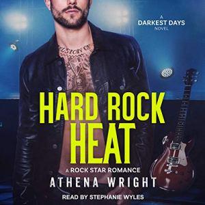 Hard Rock Heat: A Rock Star Romance audiobook cover art