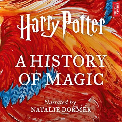 Harry Potter: A History of Magic audiobook cover art