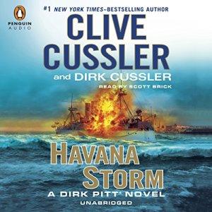 Havana Storm audiobook cover art