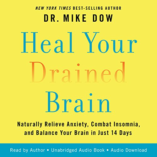 Heal Your Drained Brain audiobook cover art
