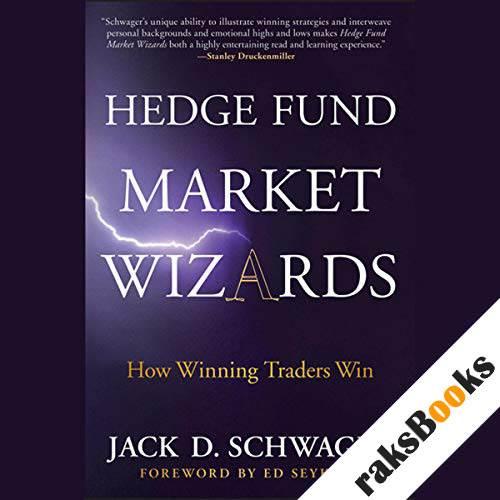 Hedge Fund Market Wizards audiobook cover art