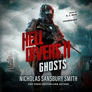 Hell Divers II: Ghosts audiobook cover art