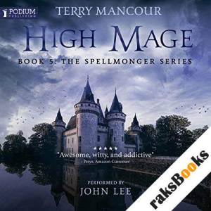 High Mage audiobook cover art