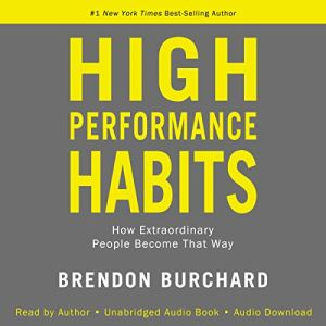 High Performance Habits audiobook cover art