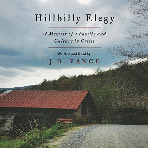 Hillbilly Elegy audiobook cover art