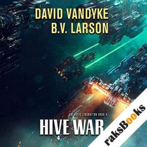 Hive War audiobook cover art
