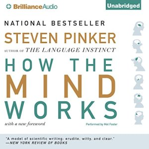 How the Mind Works audiobook cover art