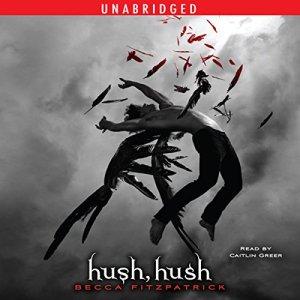 Hush, Hush audiobook cover art