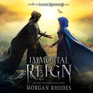 Immortal Reign audiobook cover art