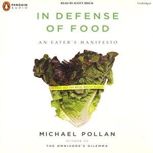 In Defense of Food audiobook cover art