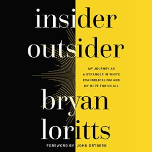 Insider Outsider audiobook cover art