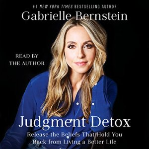 Judgment Detox audiobook cover art
