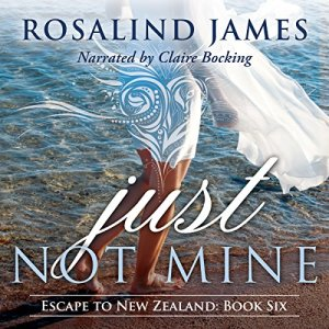 Just Not Mine audiobook cover art