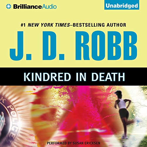Kindred in Death audiobook cover art