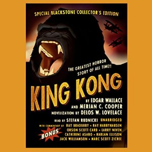 King Kong audiobook cover art