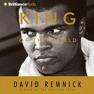 King of the World audiobook cover art