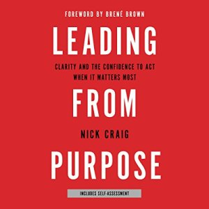 Leading from Purpose audiobook cover art