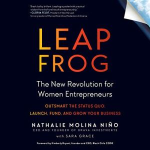 Leapfrog: The New Revolution for Women Entrepreneurs audiobook cover art