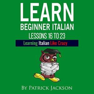 Learn Beginner Italian audiobook cover art