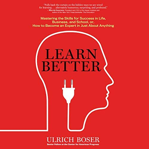 Learn Better audiobook cover art