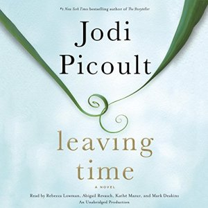 Leaving Time audiobook cover art