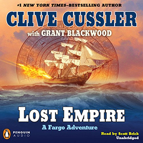 Lost Empire audiobook cover art