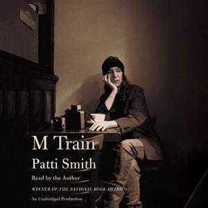 M Train audiobook cover art