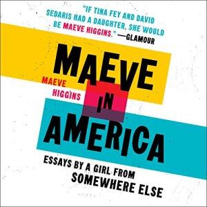 Maeve in America audiobook cover art