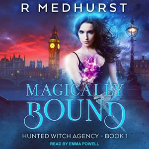Magically Bound audiobook cover art