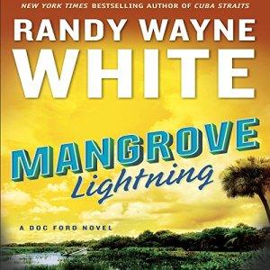 Mangrove Lightning audiobook cover art