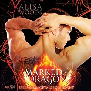Marked by a Dragon  audiobook cover art