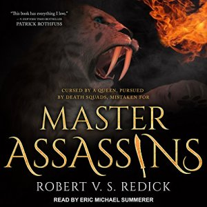 Master Assassins audiobook cover art