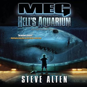 Meg: Hell's Aquarium audiobook cover art