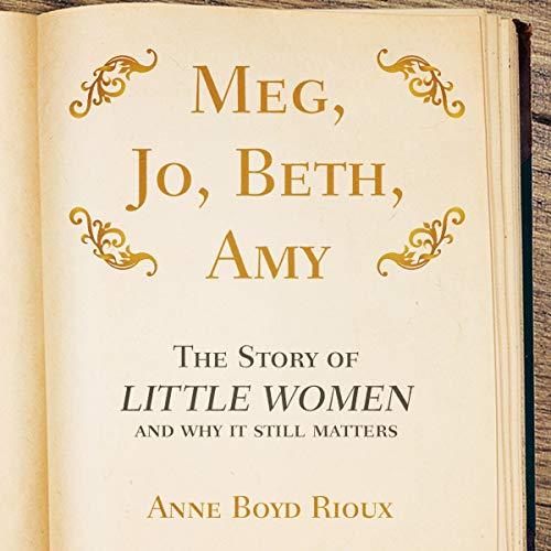 Meg, Jo, Beth, Amy audiobook cover art