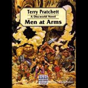 Men at Arms audiobook cover art