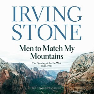Men to Match My Mountains audiobook cover art