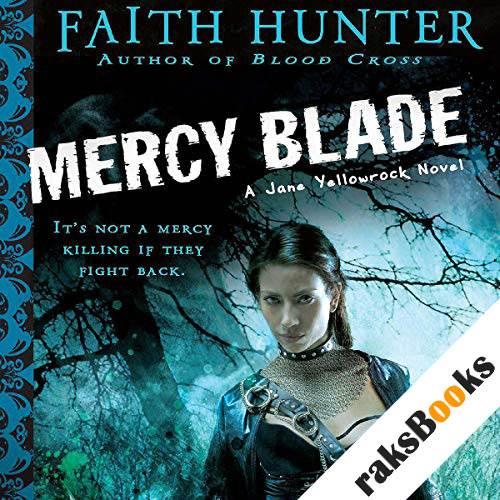 Mercy Blade audiobook cover art