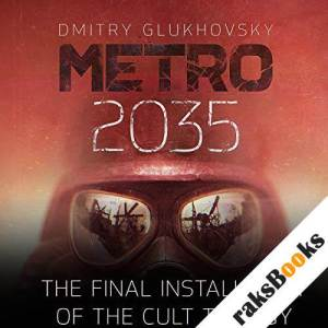 Metro 2035 audiobook cover art