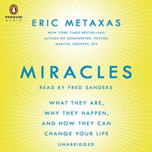 Miracles audiobook cover art