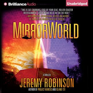 Mirrorworld audiobook cover art