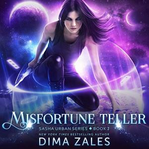 Misfortune Teller audiobook cover art